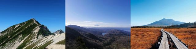 登山口ナビ 2021年9月アクセスランキング【人気の山ランキング】